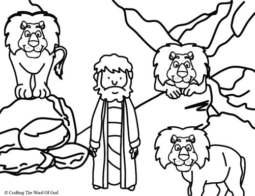 daniel-in-the-lions-den-coloring